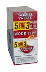 Swisher Sweets Wood Tip Cigars Pack 5 For 3