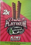 Double Platinum Blunt Wrap Kiwi Strawberry