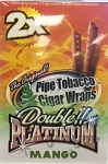 Double Platinum Blunt Wrap Mango