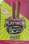 Double Platinum Blunt Wrap Tropical Twista