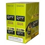 Game Foil Fresh Cigarillos White Grape 2 for $0.99 Pre-Priced
