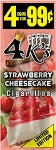 4 Kings Strawberry Cheesecake Cigar Pouch