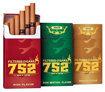 752 Filtered Cigars