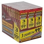 Good Times Cigarillos Strawberry 30/3 Packs 3 for $0.99 Pre-Priced