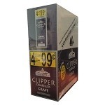 Clipper Cigarillos Grape 15/4 Pouch 4 for $0.99