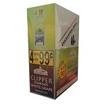 Clipper Cigarillos White Grape 15/4 Pouch 4 for $0.99