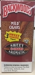 BACKWOODS SWEET AROMATIC 3 CIGARS