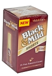 Black & Mild Cigars Shorts Wine Box