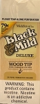 Black & Mild Deluxe Wood Tip 79c Cigars Box