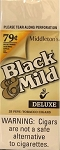Black & Mild Deluxe 79c Cigars Box