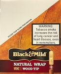 Black & Mild Natural Wrap Wine Wood Tip Cigars