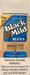 Black & Mild Blues Wood Tip Box Pre Priced