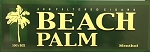 Beach Palm Filtered Cigars Menthol
