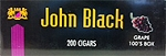 John Black 100's Box Grape