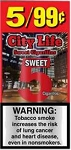 City Life Cigarillos Sweet Pouch 5 /99c