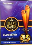 Blunt Master 2X Blueberry Cigars Wraps
