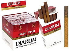 Djarum Filtered Clove Cigars Special
