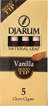 Djarum Clove Wood Tip Vanilla Cigars Pack