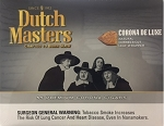 DUTCH MASTERS CORONA DELUXE 55 CIGARS BOX