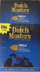 Dutch Masters Cigarillos Vanilla Blue Box Pre Priced