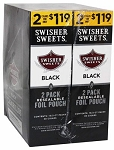 Swisher Sweets Cigarillos Foil Pack Black
