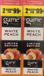 Game Foil Fresh Cigarillos White Peach Limited Edition 2 for $0.99