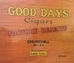 Good Days Cigars Churchill Box (Factory Rejects Premium)