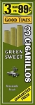 Good Times Cigarillos Green Sweet Pouch 15/3