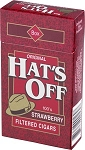 Hat's Off Filtered Cigars Strawberry