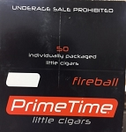 Prime Time Little Cigars Fireball 50Ct Box