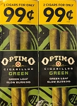 Optimo Foil Pouch Cigarillos Green Prepriced