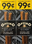 Optimo Foil Pouch Cigarillos Silver Prepriced