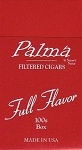 Palma Filtered Cigars Full Flavor
