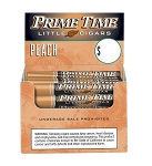 Prime Time Little Cigars Peach 50Ct Box
