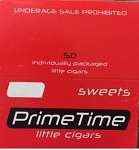 Prime Time Little Cigars Sweet 50Ct Box