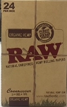 Raw  Connoisseur Cigarette Paper Organic Hemp
