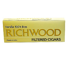 Richwood Filtered Cigars Vanilla