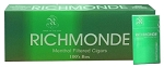 Richmonde Filtered Cigars Menthol 100's Box