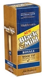 Black & Mild Wood Tip Royale Cigars Box