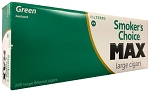 Smokers Choice Large Green MAX Cigars (Heavy Weight)
