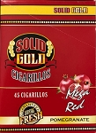 Solid Gold Pomegranate Cigarillos pre priced 3 for .99