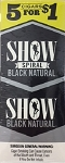 Show Cigarillos Black Natural 5 for 1