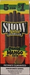 Show Cigarillos Peach Mango Tata 5 for 1
