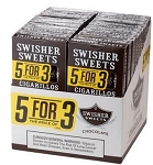 Swisher Sweets Cigarillo Chocolate Pack 5FOR3