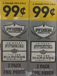 Swisher Sweets Cigarillos Foil Pack Diamond 2 for 0.99