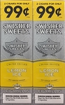 Swisher Sweets Cigarillos Lemon Ice Foil Pack Limited Edition