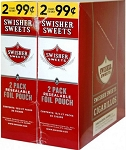 Swisher Sweets Cigarillos Foil Regular 2 for 99