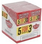 Swisher Sweets Cigarillo Strawberry Pack B3G5