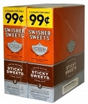 Swisher Sweets Cigarillos Foil Pack Sticky Sweets 2 for $.99
