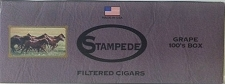 Stampede Filtered Cigars Grape